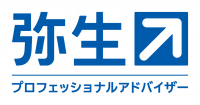 弥生PAPパートナーロゴ_カラー反転